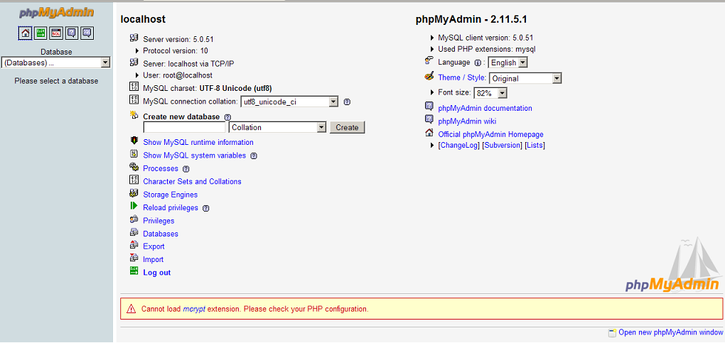 how to create database relations phpmyadmin