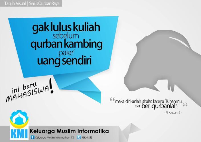 Taujih Visual #QurbanRaya