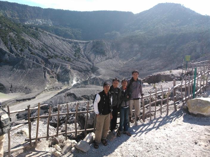 Near of Tangkuban Parahu Crater