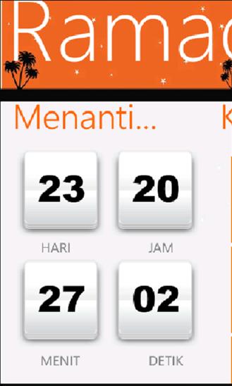 Time Reminder - Ramadhan Pedia