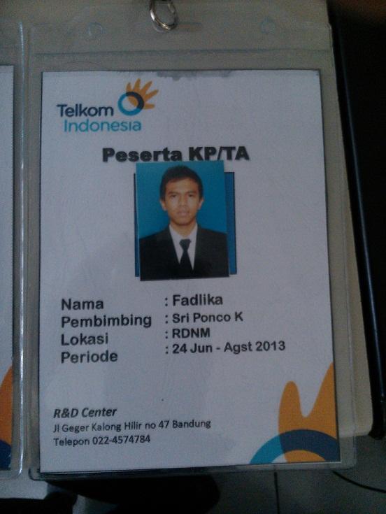 #ID Card Orang Ganteng :D