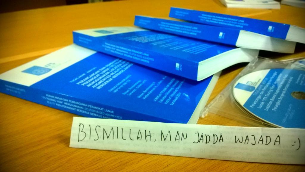 Bismillah, Man Jadda Wajada